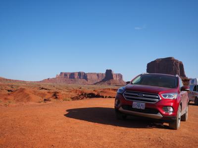紅い砂、蒼い空、一本道 走行3600キロ  USAグランドサークル2019'夏