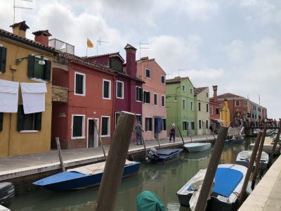 私のベネチア物語10 トルチェッロ島、ブラーノ島、ムラーノ島をヴァポレットで丸1日かけて行きました