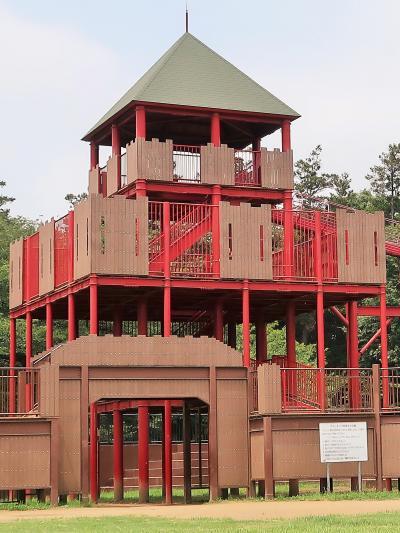 船橋-5 アンデルセン公園e  〔ワンパク王国〕 ☆滑り台/水浴場/アスレチック類も充実