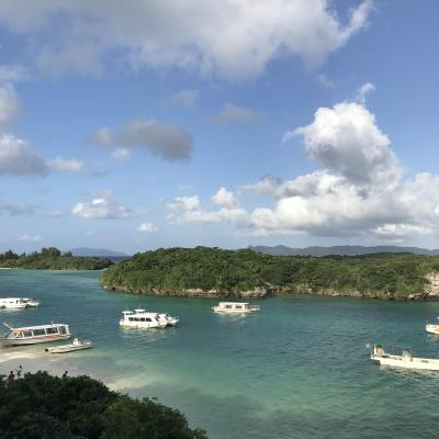SFC修行の旅GWの石垣島4泊5日ダイビング&ドライブ