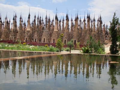 ミャンマー再訪の旅(14)             カックー遺跡。