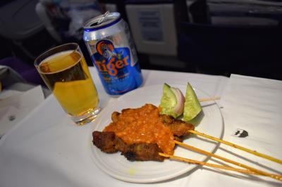 ナマステ・インド、サワッディー・タイ part 10 - マレーシア航空ビジネスクラス デリー→クアラルンプール→バンコク