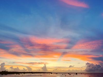 夏の終わりに宮古島でプチ夏休み②~大神島シュノーケリングと佐和田の浜のマジックアワー~
