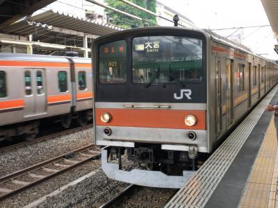 2019年8月首都圏鉄道落葉拾いの旅3(武蔵野線大宮支線ほか)