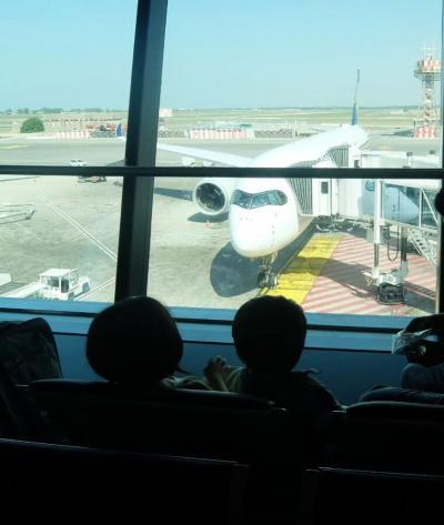 地中海クルーズの旅16日目 ローマ→シンガポール