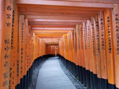 正式参拝「京都伏見稲荷」と「北野天満宮」