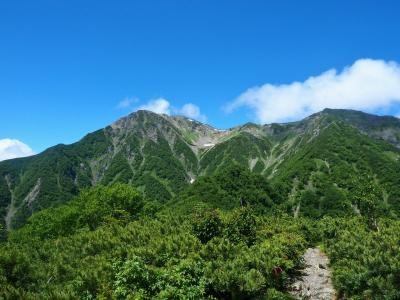 赤石岳大倉尾根 / 登山の愉しみ此処に在り