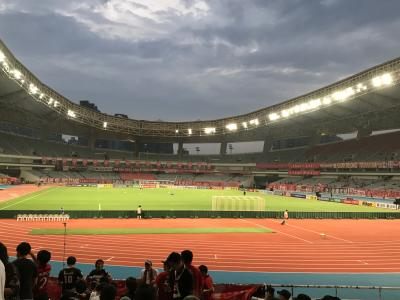 2019.8 ACLを観戦に上海へ Vol.2(2日目:ACL観戦編)