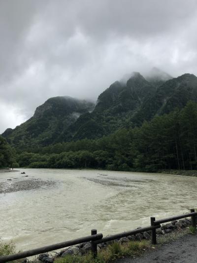 残念過ぎる雨の上高地・松本・美ヶ原の旅