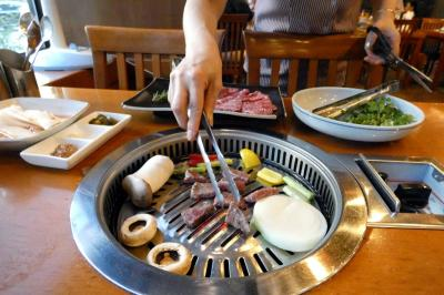 お盆休みの釜山3泊 思味軒(サミホン)の夕食