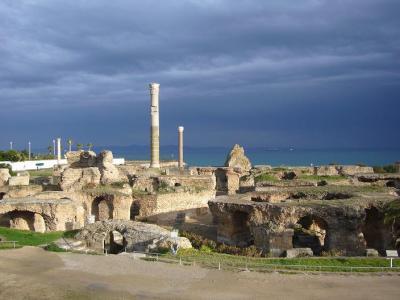 チュニジア7日間の旅(1) カルタゴ遺跡