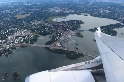 フィンエアーAY144便ビジネスクラスでバンコクからヘルシンキへ