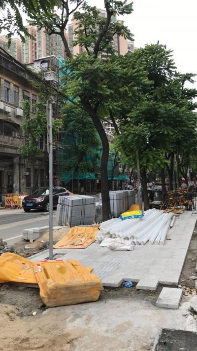 広州 荔湾区 『壊して造る』