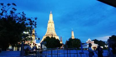 叔母とJTB旅物語のバンコクアユタヤのツアー