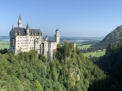 ⑥ユーレイルグローバルパスを使って:ノイシュヴァンシュタイン城、ロマンチック街道を巡る旅①