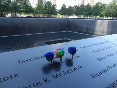 NYCを歩く。(4.4) ニューヨークが巡礼地になった。WTC でお墓参りです。