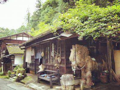 日本一の星空は見えなかったけど、、美肌温泉と宿場町観光でまったり、ゆったり。