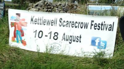 2019年8月 英国 その5 イングランド:ケトルウェル 案山子祭り