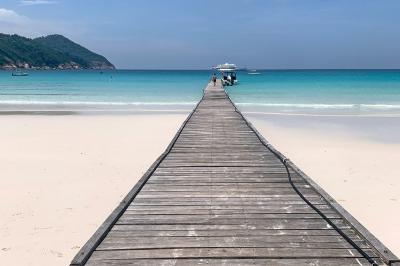 2019年8月【No.4】マレーシア レダン島4泊6日の旅☆4日目~カヤックに乗ってウミガメに会いに行く