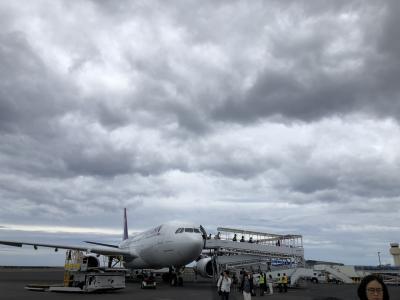 2019年9月 大人4人の詰め込みハワイ島旅 ①準備~コナ空港