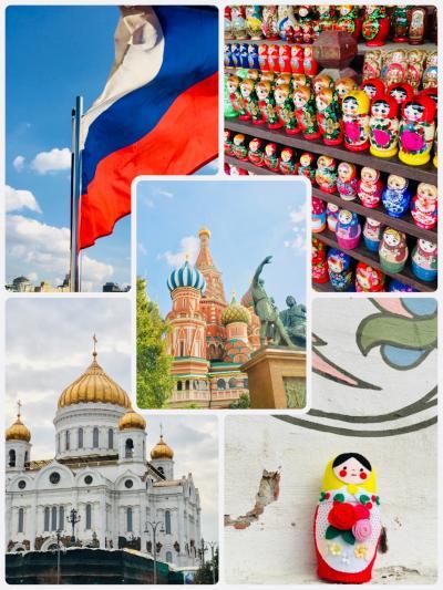 マトリョーシカと旅するモスクワ7日間 スタート!