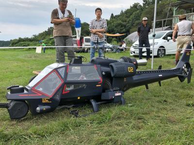 那須RCスケールヘリコプター (ジェットヘリ)の集い 見学記 2019