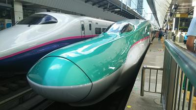 グランクラスに乗って妹夫婦と一緒に観光だけの3泊4日函館・青森お初が多くて嬉し楽し旅なのだ(^-^ゞ