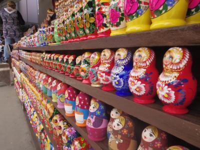 2019モスクワ街歩き(3)ヴェルニサージュ市場でお土産選び