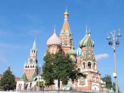 2019モスクワ街歩き(4)赤の広場・聖ワシリー大聖堂