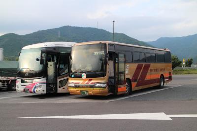 徳島の街を歩いた後は高速バスで高知へ。食事に鉄道に、ホテルの様子等・・・