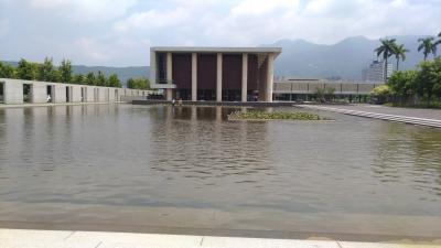 水の有る風景 『法鼓山 農禪寺』
