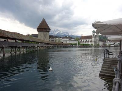 2019 スイス、イタリア鉄道紀行(13)  ルツェルンで途中下車してランチ