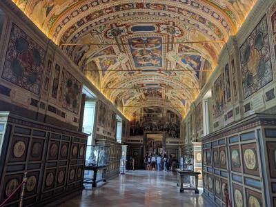 40代おひとり様の初心者海外旅行【イタリア7日目 ローマ バチカン美術館】