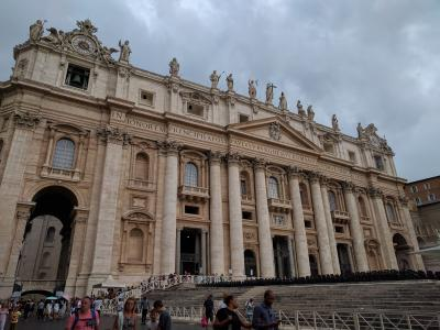40代おひとり様の初心者海外旅行【イタリア7日目 ローマ バチカン サン・ピエトロ大聖堂】