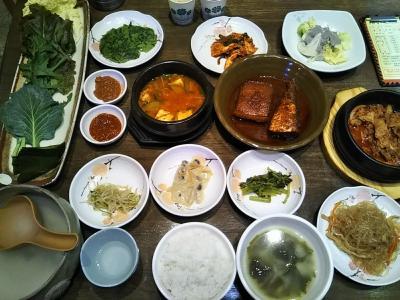190回目訪韓(2019/9/14土~16月)②/⑥ソルビンでピンス~パッサンで食事~チムジルバン宿泊
