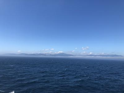 北海道旅行1日目から2日目 大洗から苫小牧ー札幌へ