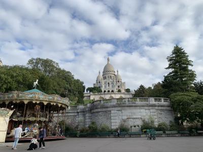 ⑩ユーレイルグローバルパスを使って:パリ2日目はモンマルトル、パッサージュ巡り