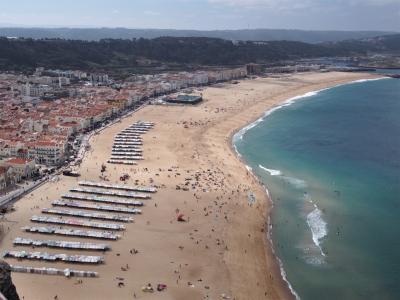 2019夏 ポルトガル・スペイン一人旅⑦【サーフィンの街ナザレから学生の街コインブラへ編♪】