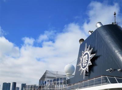 初クルーズでキューバ#2-2019年1月28日(月)MSCアルモニア乗船