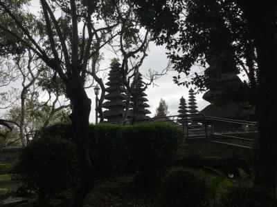 バリ島:スミニャックからウブドへ(タマンアユン寺院、ガムランボール、テガララン)