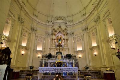 魅惑のシチリア×プーリア♪ Vol.408 ☆ノート:生クリーム色のサンフランチェスコ教会♪