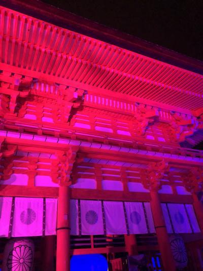 真夏の京都④~下鴨神社ライトアップ、串かつ、ハードロックカフェ、ラーメン、辻利~