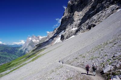 アイガートレイル・ハイキング(スイス4)