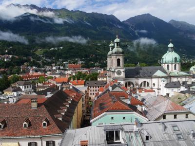 夏旅でインスブルックカード使い倒し<4>~旧市街でウィーンかぶれな雨宿り