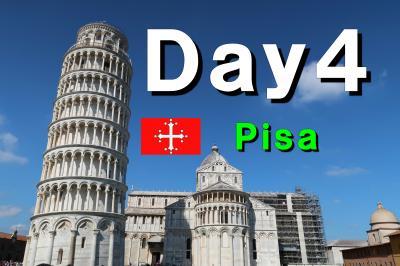 Bon Voyage! イタリア満喫8日間の旅 2019夏 ~4日目 Part1~ 「ピサの斜塔」