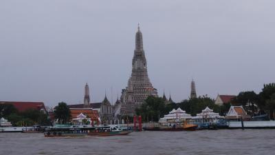 2019年9月 初バンコク2泊5日の旅その4 どしゃ降りの中、三大寺院を巡る