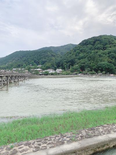 そうだ!'なちょ'と京都に行こう!2019夏 1 ~思い出辿って嵐山編~
