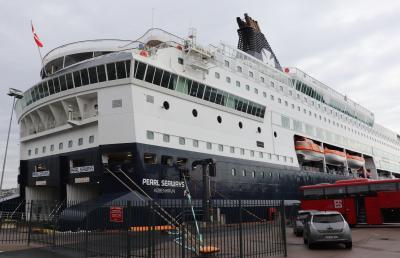 DFDSシーウェイズ乗船してコペンハーゲンからオスロへの船旅