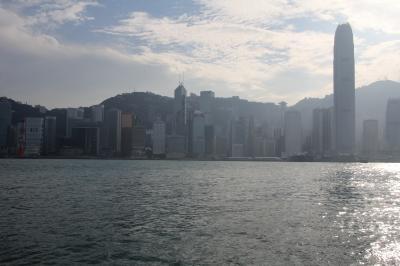 山水画の世界と街角の風景 その4(香港夜景編)