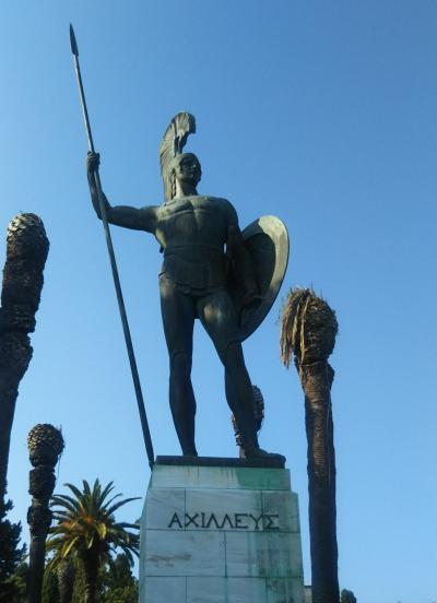 シニア夫婦で地中海クルーズ+ローマ、バルセロナの旅 18日間 no5 ケルキラ島の街歩き